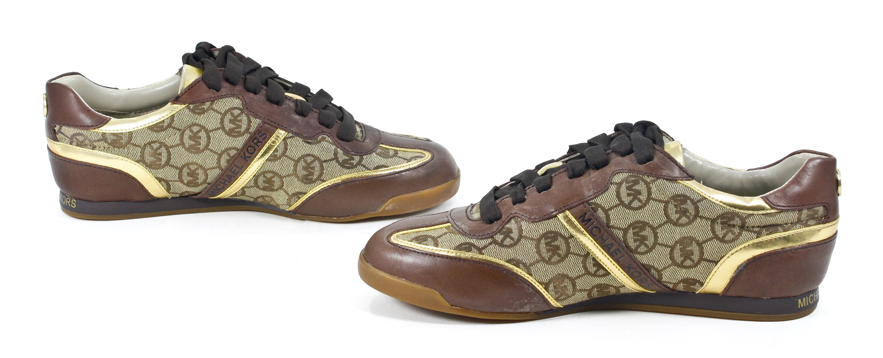 Mk Black Tennis Shoes