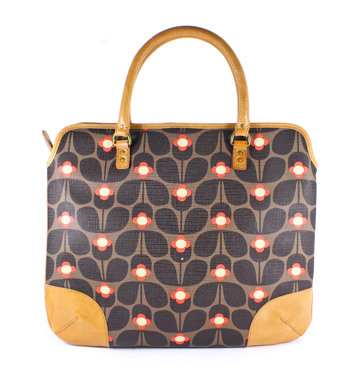 orla kiely large jeanie bag laminated canvas laptop tote. Black Bedroom Furniture Sets. Home Design Ideas