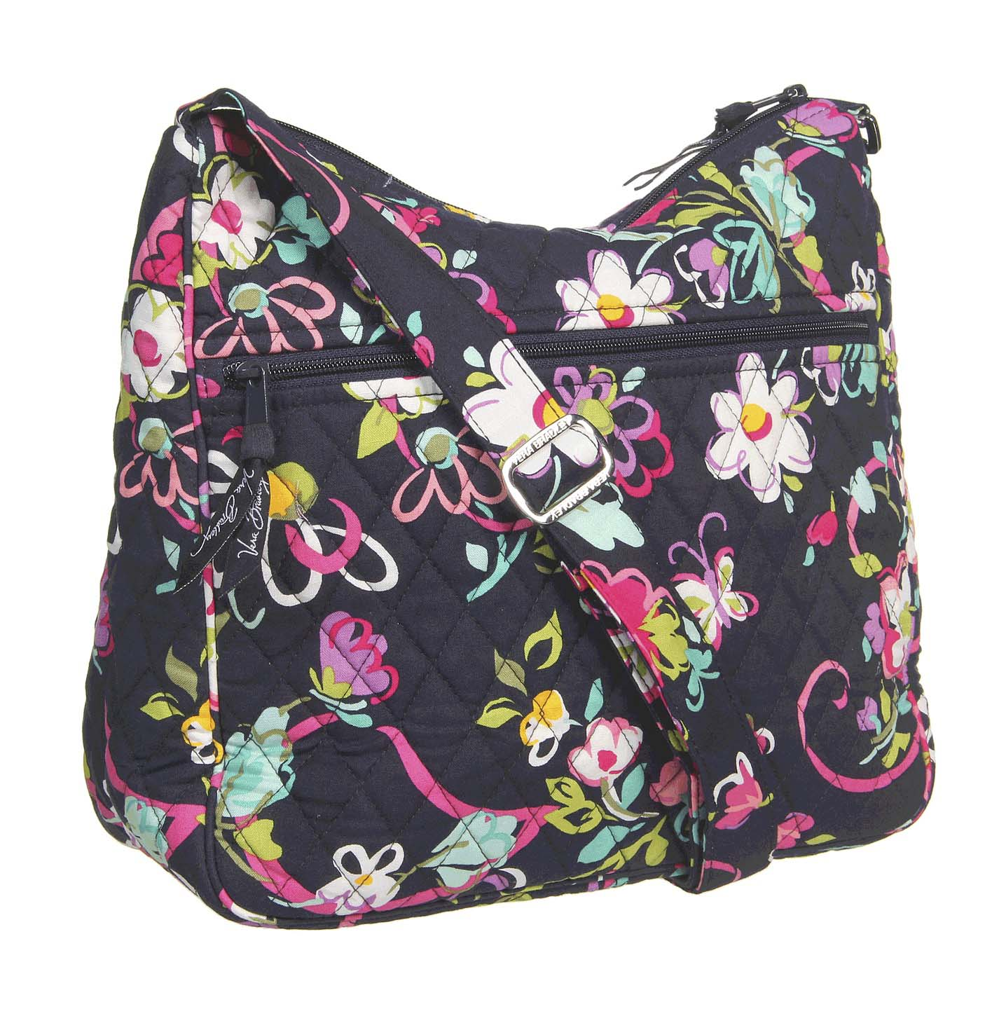 vera bradley mom 39 s day out diaper bag purse carryall ribbons new ebay. Black Bedroom Furniture Sets. Home Design Ideas