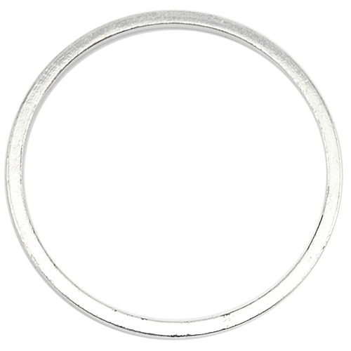 Beadalon Silver Plated Quick Links 25mm Round (18 Pcs)