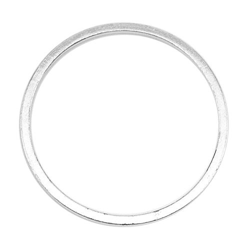 Beadalon Silver Plated Quick Links 20mm Round (22 Pcs)