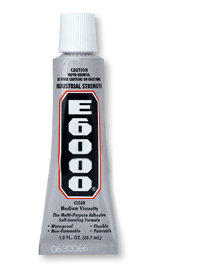 E6000 Industrial Strength Glue Adhesive  (1 Oz)