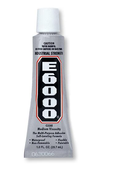 E6000 Industrial Strength Glue Adhesive  (1 Oz)
