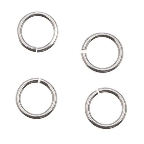 Silver Filled Open Jump Rings 5mm 20 Gauge (10)
