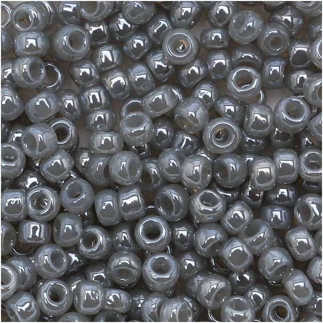 Toho Round Seed Beads 8/0 150 'Ceylon Smoke' 8 Gram Tube