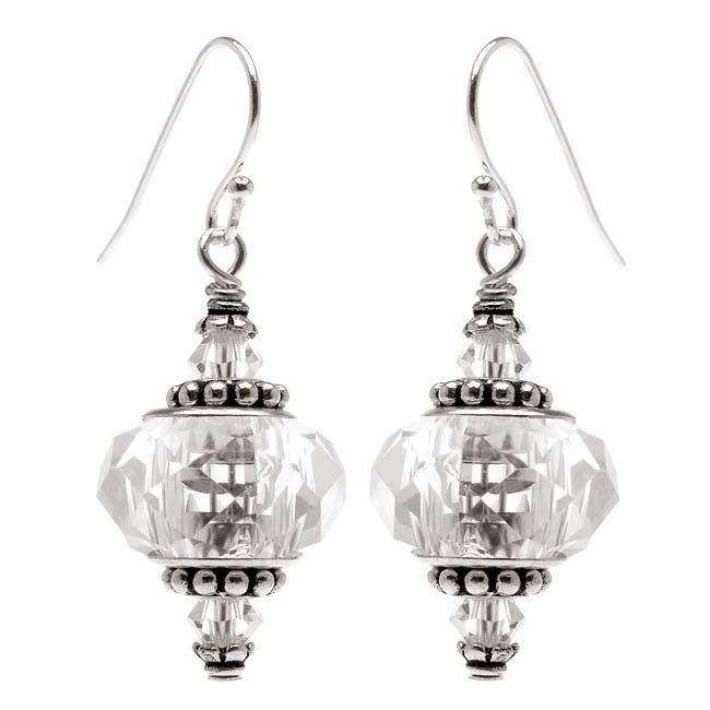 Talia Earrings (crystal) - Exclusive Beadaholique Jewelry Kit