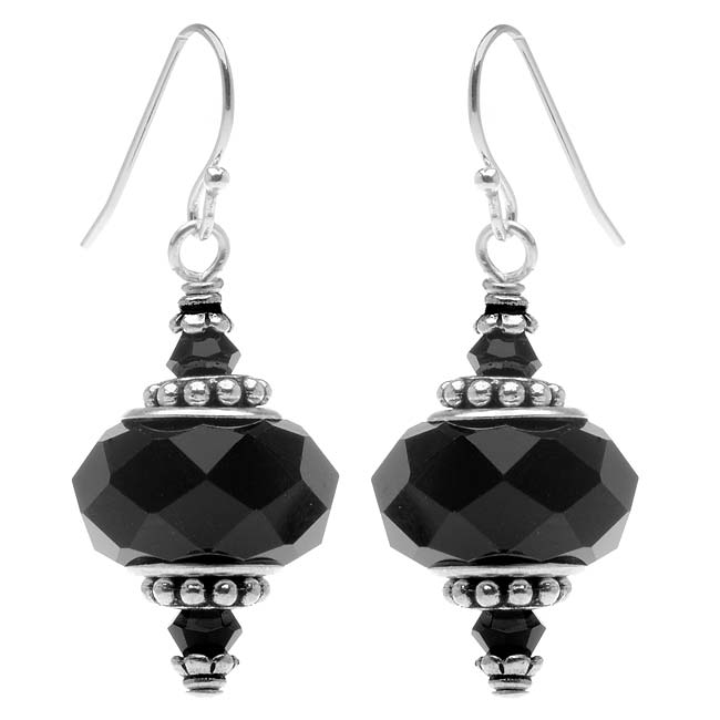Talia Earrings (black) - Exclusive Beadaholique Jewelry Kit