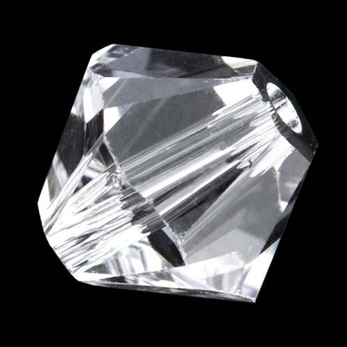 Swarovski Crystal, #5328 Bicone Beads 5mm, 20 Pieces, Crystal