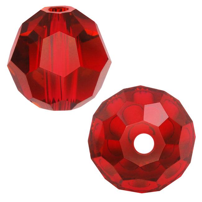 Swarovski Crystal, #5000 Round Beads 4mm, 12 Pieces, Light Siam