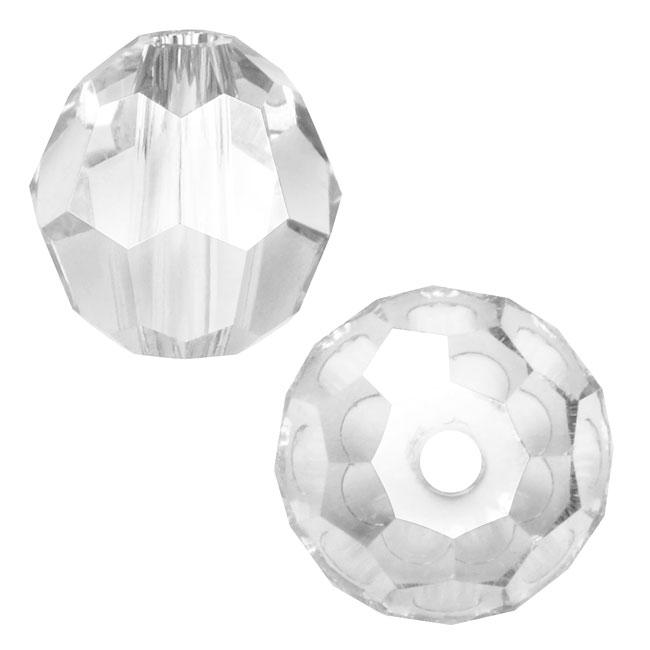 Swarovski Crystal, #5000 Round Beads 6mm, 10 Pieces, Crystal