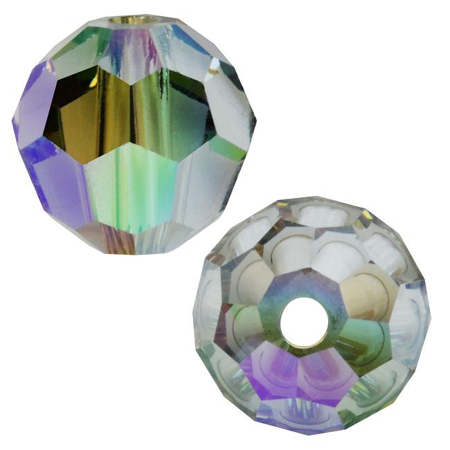 Swarovski Crystal, #5000 Round Beads 6mm, 10 Pieces, Crystal Paradise Shine