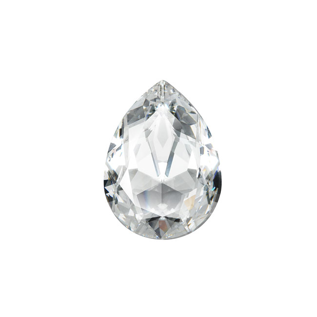 Swarovski Crystal, #4320 Pear Fancy Stone 14x10mm, 1 Piece, Crystal F