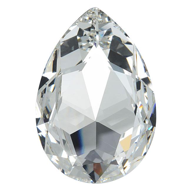 Swarovski Crystal, #4327 Pear Fancy Stone 30x20mm, 1 Piece, Crystal F