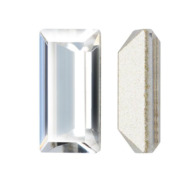 Swarovski Crystal, #4501 Baguette Fancy Stone 10x5mm, 2 Pieces, Crystal F