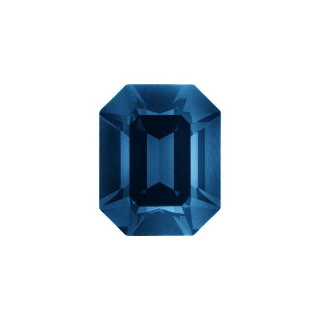 Swarovski Crystal, #4600 Octagon Fancy Stone 10x8mm, 1 Piece, Montana F