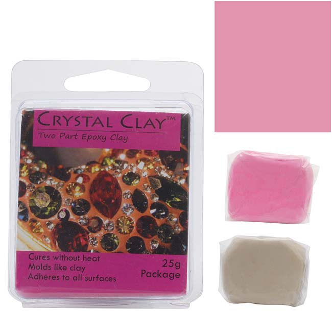 Crystal Clay 2-Part Epoxy Clay Kit 'Cotton Candy' 25 Grams