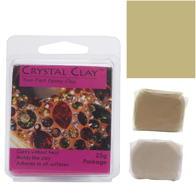Crystal Clay 2-Part Epoxy Clay Kit 'Gold' 25 Grams