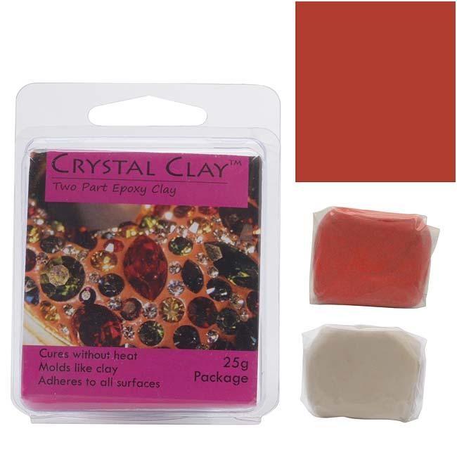 Crystal Clay 2-Part Epoxy Clay Kit - Spice (25 Grams)