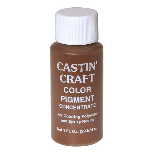 CASTIN CRAFT Casting Epoxy Resin Opaque Brown Pigment Dye 1 Oz