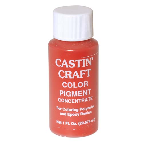 CASTIN CRAFT Casting Epoxy Resin Opaque Red Pigment Dye 1 Oz