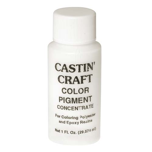 CASTIN CRAFT Casting Epoxy Resin Opaque White Pigment Dye 1 Oz