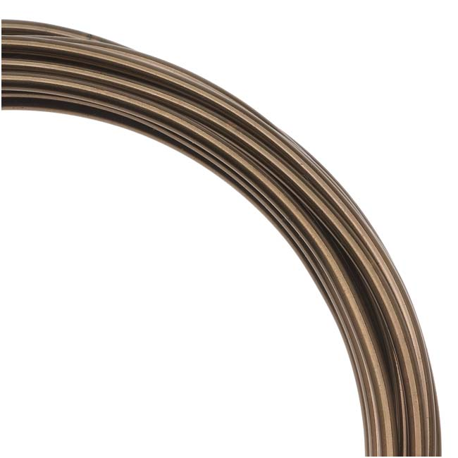Artistic craft wire antique brass color 10 gauge 5 feet ebay for 10 gauge craft wire