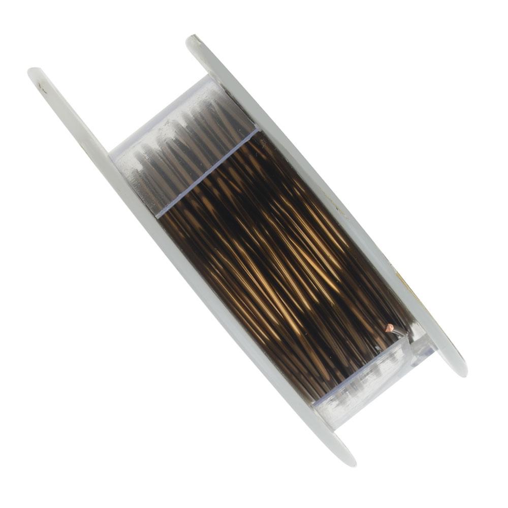 Vintaj Brass Bronze Colored Copper Wire 18 Gauge 30 Feet (1 Spool)