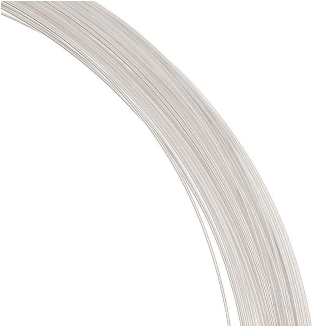 1 Oz. (76 Ft) Sterling Silver Wire 26 Gauge - Round/Half Hard
