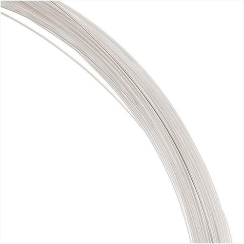 1 Oz. Silver Filled Wire 26 Gauge Round Dead Soft (75 Ft.)