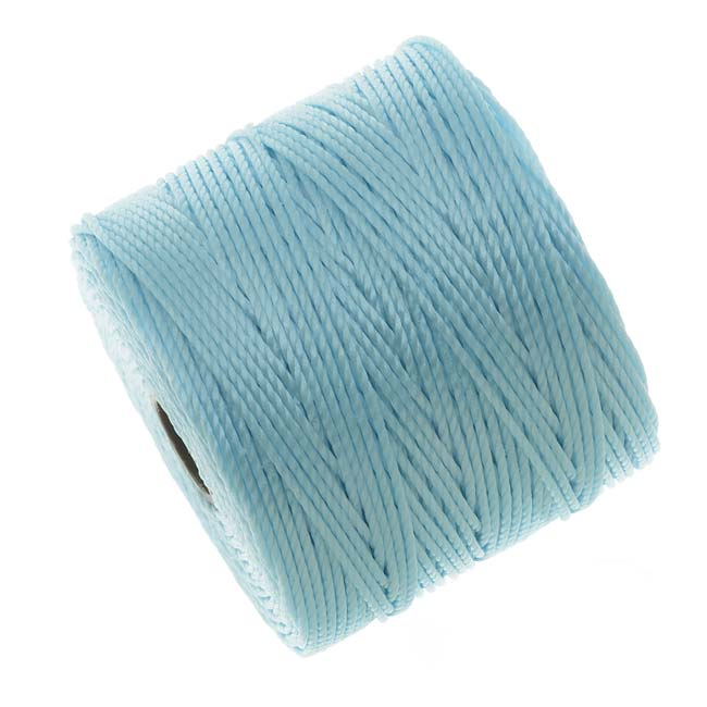 Super-Lon (S-Lon) Cord - Size #18 Twisted Nylon - Sky Blue / 77 Yard Spool