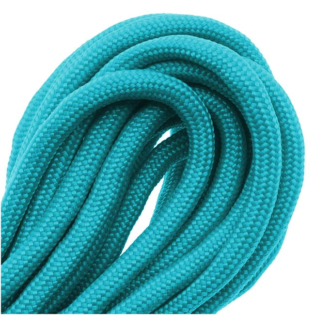 Paracord 550 / Nylon Parachute Cord 4mm - Turquoise (16 Feet/4.8 Meters)