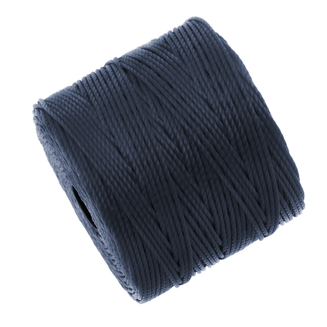 Super-Lon (S-Lon) Cord - Size #18 Twisted Nylon - Navy Blue (77 Yard Spool)
