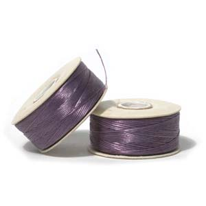 NYMO Nylon Beading Thread Size D for Delica Beads Light Purple 64YD (58 Meters)