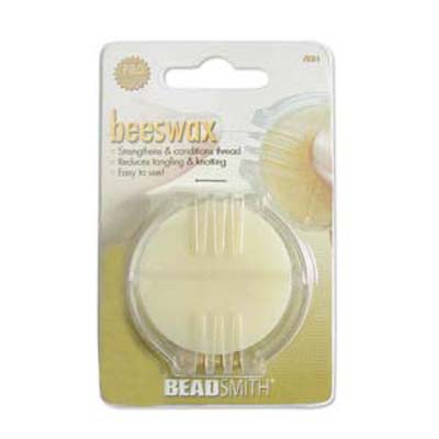 Beadsmith Beeswax Thread Strengthening Conditioner for Beads/Quilting/Crafting