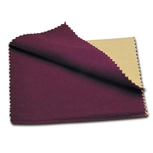 Jeweller's Rouge Silver Polish Polishing Cloth 6x8 Inch Size