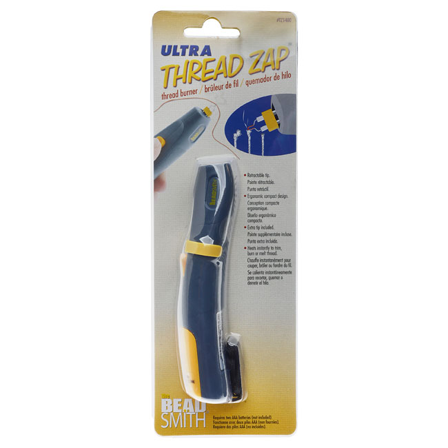 The Beadsmith Ultra Thread Zap, Battery Operated Thread Trimmer, 1 Piece