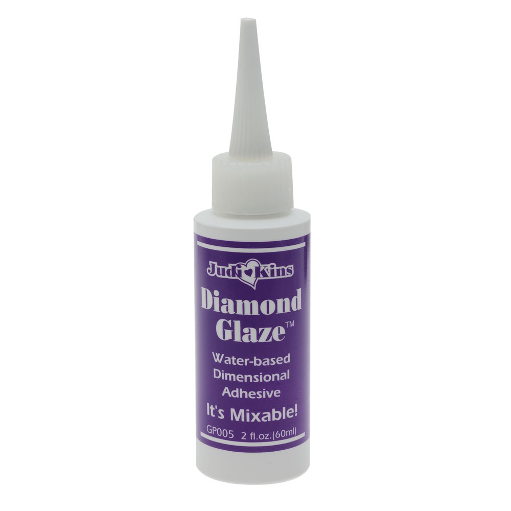 JudiKins Diamond Glaze Water Based Adhesive (2 Fl. Oz.)