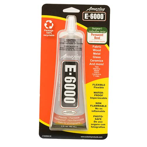 E6000 Industrial Strength Glue Adhesive  (2 Oz)