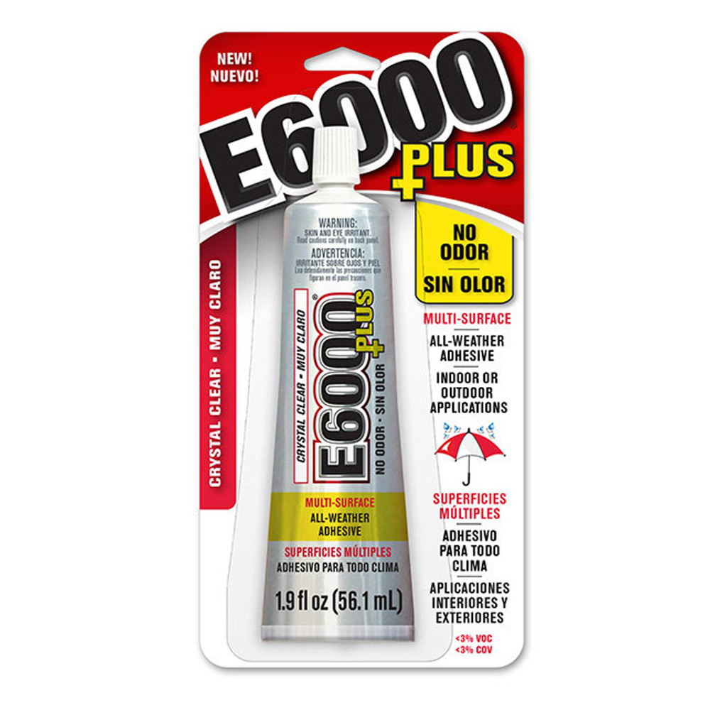 Eurotool Super New Glue - Heavy Duty Adhesive - 3 Gram Bottle