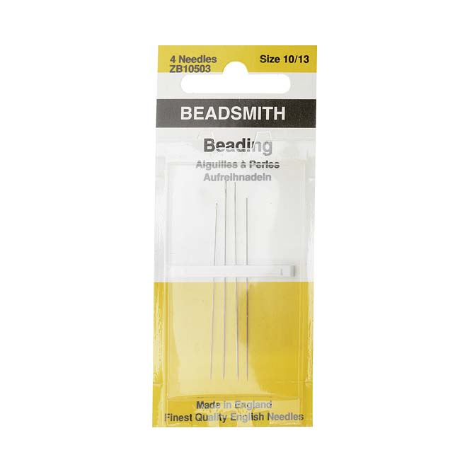 English Beading Needles Assorted Variety Pack