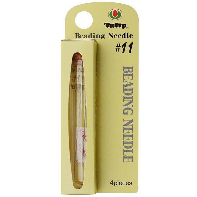 Tulip Beading Needles Size #11 48.5x0.41mm - 4 Needles