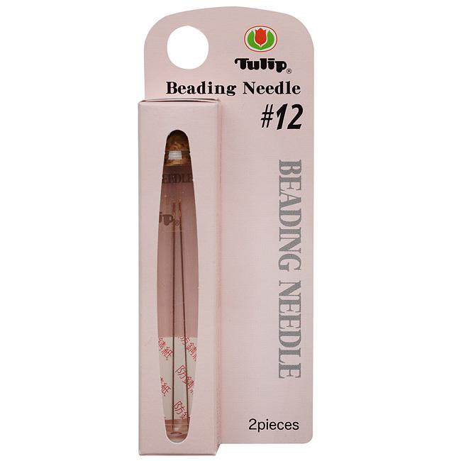 Tulip Beading Needles Size #12 47.5x0.35mm - 2 Needles