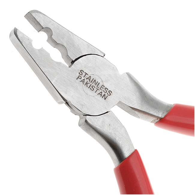 The Beadsmith Fold Over Crimping Pliers For Leather & Suede Findings