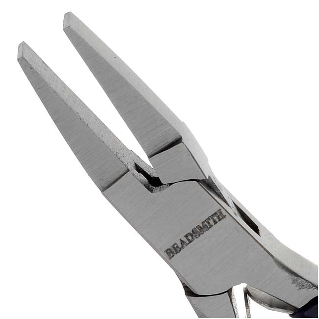The Beadsmith Jewelry Micro Pliers Duckbill Flat Nose