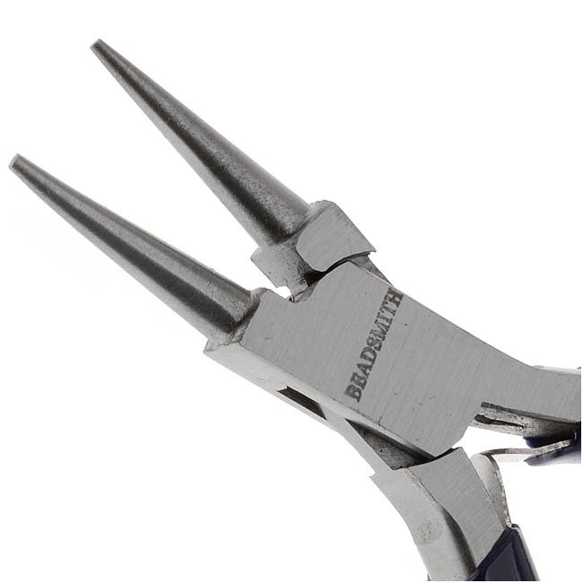 The Beadsmith Jewelry Fine Round Nose Micro Pliers