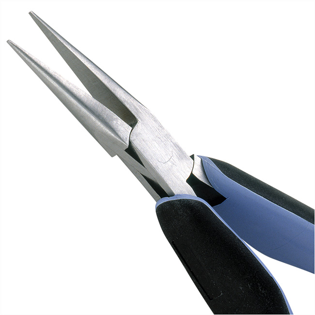 Lindstrom RX Professional Series, Smooth Chain Nose Jewelry Pliers 5.75 Inches Long