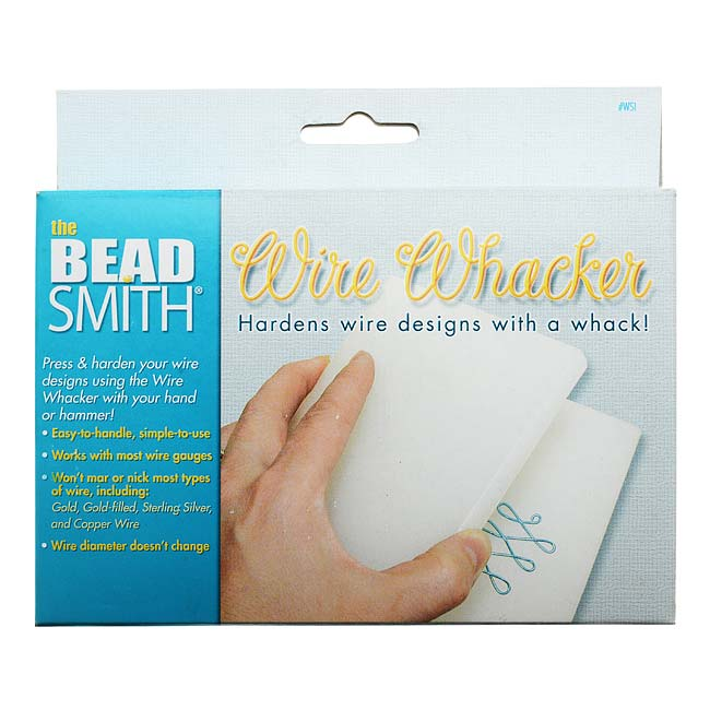 The Beadsmith Wire Whacker - Wire Hardening For Wire Wrapping - Whack It!