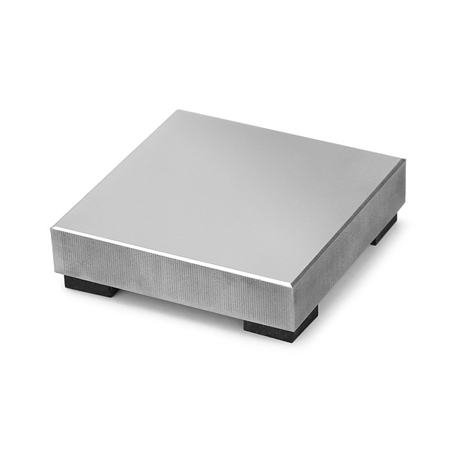 ImpressArt Steel Stamping Block, Small Size with Rubber Feet 2x2