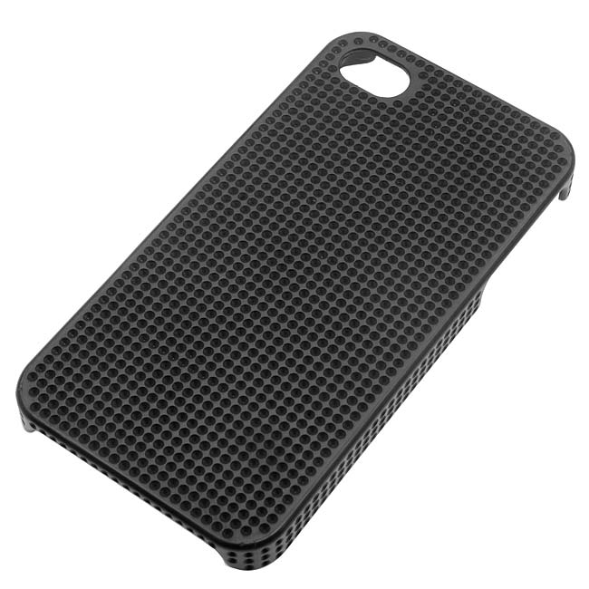 The Beadsmith Dimpled Blingable Phone Case Fits PP17 Chatons For iPhone 4/4S - Black