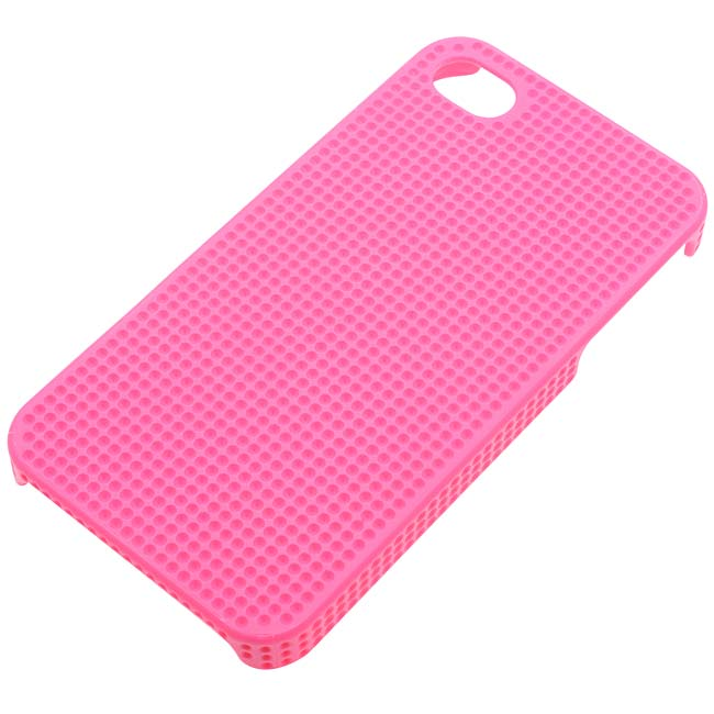 The Beadsmith Dimpled Blingable Phone Case Fits PP17 Chatons For iPhone 4/4S - Pink
